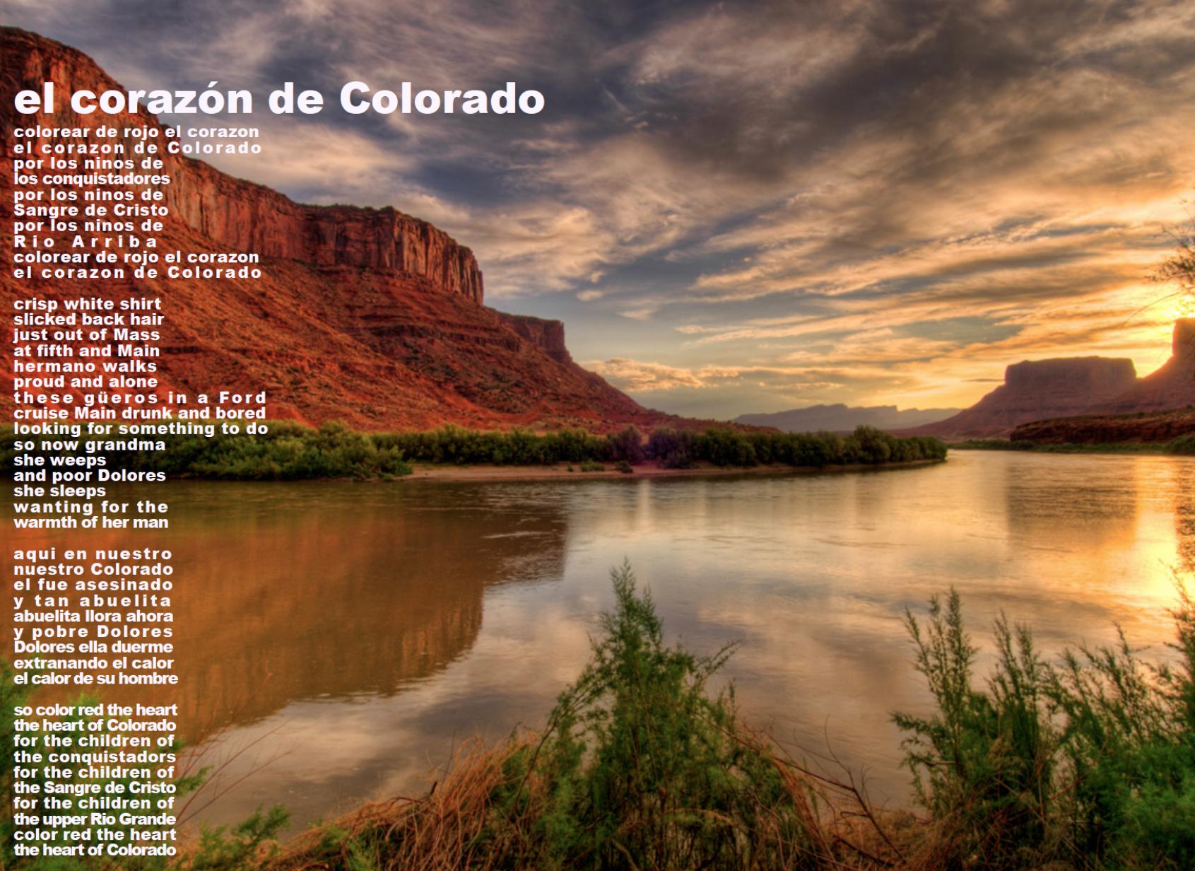 22 El Corezon De Colorado The Cotton Chronicles